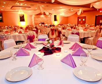 Wedding Accommodations Up to 180 Guests